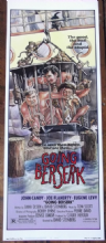 Going Berserk, Insert Movie Poster, John Candy, Eugene Levy, Great Art! '83